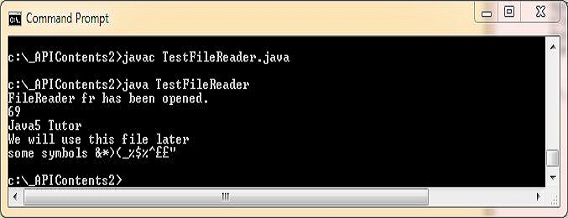 run test filereader